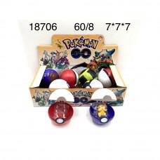 18706 Покемон 8 шт. в блоке, 60 шт. в кор.