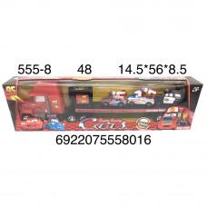 555-8 Автовоз Тачки 48 шт в кор.