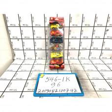 Модельки Тачки 6 шт. в блоке, 96 шт. в кор. 546-1K