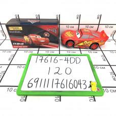 """Машинка """"Тачки"""" (свет, звук) 120 шт в кор. 17616-4DD"""
