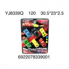 Машинки Тачки 6 шт. в наборе, 120 шт. в кор. YJ8339Q