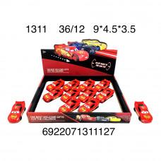 Машинки Тачки 12 шт. в блоке, 432 шт. в кор. 1311