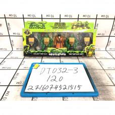 Черепашки Ниндзя 5 шт. в наборе, 120 шт. в кор. DT032-3