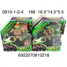 0810 Мультгерои Рептилии фигурки, 168 шт. в кор.