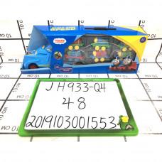 Автовоз с паровозиками 48 шт в кор JH933-Q4