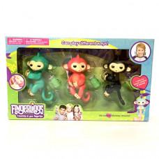 Маленькие обезьянки 3 шт. в наборе, 96 шт. в кор. 21631