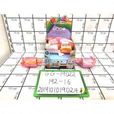 Единорог Пупси Конфетки 16 шт в блоке, 192 шт в кор.  GG-19022