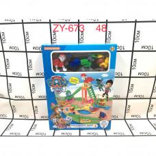 ZY-673 Собачки Детская горка, 48 шт. в кор.