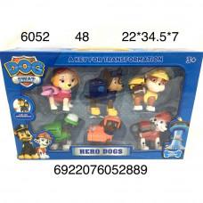 6052 Собачки 6 героя, 48 шт. в кор.