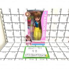 Кукла Принцесса Анна 48 шт в кор. 6621-9H