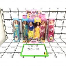 Куклы Принцессы 12 шт.  в блоке, 240 шт. в кор. D808
