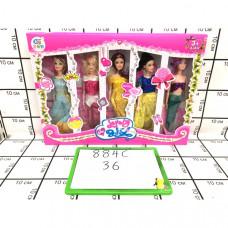 Куклы 5 шт. в наборе, 36 шт. в кор. 884A