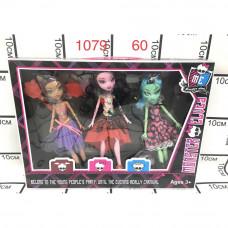 1079A Куклы Монстр 3 шт. в наборе, 60 шт. в кор.