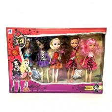 Куклы Монстр 5 шт. в наборе, 36 шт. в кор. 8803-5