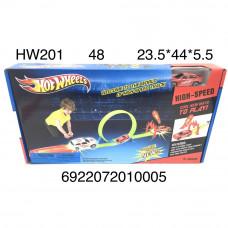 HW201 Автотрек Хот Вилс, 48 шт. в кор.