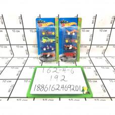 Модельки Хот Вилс 4 шт. на блистере, 192 шт. в кор. 162-4-6