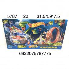 5787 Автотрек Хот Вилс Змея, 20 шт. в кор.