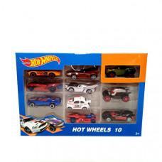 Машинки Хот Вилс 10 шт, арт. 164-6-6