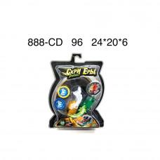 Дикие машинки на блистере, 96 шт. в кор. 888-CD