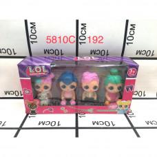 5810C Кукла в шаре Набор 192 шт в кор.