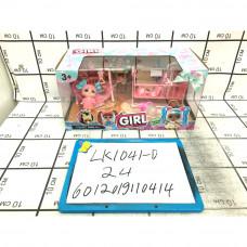 Кукла в шаре набор, 24 шт. в кор. LK1041-D
