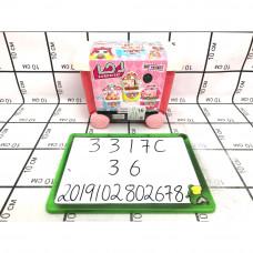 Кукла в шаре Киоск со сладостями на колёсах, 36 шт. в кор. 3317C