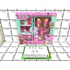 Кукла в шаре Кухонный набор, 24 шт. в кор. 777-42
