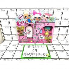 Кукла в шаре+ Краски набор, 24 шт. в кор. BB39-3