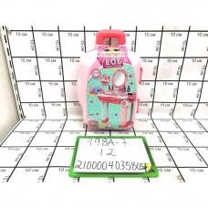 Трельяж с аксессуарами в чемодане Кукла в шаре, 12 шт. в кор. 998A-7