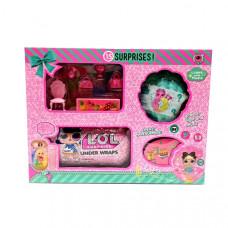 Кукла в шаре Ракушка+ Капсула и аксессуары, 32 шт. в кор. LM2607
