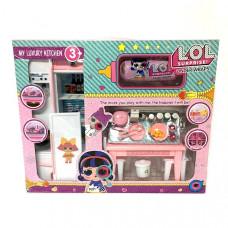 Кукла в шаре Кухня+ капсула набор 24 шт в кор. PT3040AB
