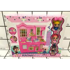 Кукла в шаре Кухня, 24 шт. в кор. 588-6