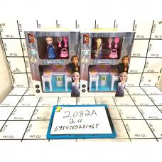 Кукла Холод с аксессуарами и Домик, 24 шт. в кор. 2082A