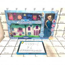 Кукла Холод Домик с мебелью, 56 шт. в кор. 3385-6