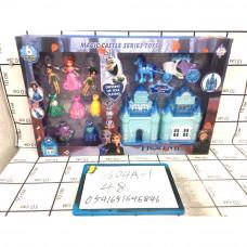 Кукла Холод Домик с куклами и платьями, 48 шт. в кор. 6604A-1