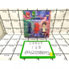 Супергерои с масками на блистере, 168 шт. в кор. 58809