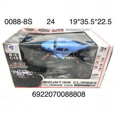0088-8S Машинка на радиоуправлении 4wd 2.4ггц, 24 шт в кор.
