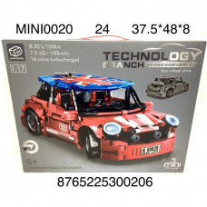 MINI0020 Конструктор Автомобиль 1013 дет., 24 шт. в кор.