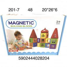 201-7 Магнитный конструктор 95 дет. 48 шт в кор.