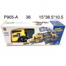 P905-A Грузовик автотрек с запуском Super storage, 36 шт. в кор.
