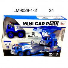 LM9028-1-2 Набор машинок с отверткой 24 шт в кор.