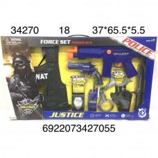 34270 Игровой набор полицейского 18 шт в кор.