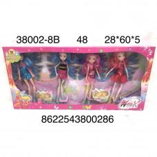 38002-8B Кукла Фея 4 шт. в наборе, 48 шт. в кор.