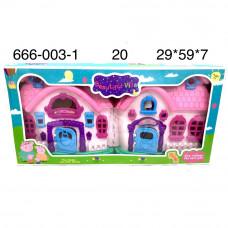 666-003-1 Животные. Загородный дом, 20 шт. в кор.