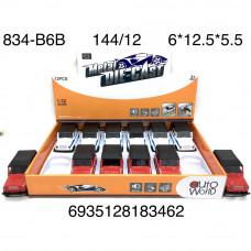 834-B6B Модельки (металл) 12 шт. в блоке, 12 блоке. в кор.
