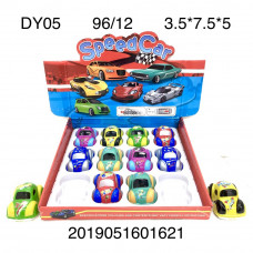 DY05 Машинки 12 шт. в блоке,96 блоке. в кор.
