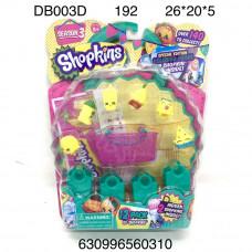 DB003D Мультгерои набор игрушек, 192 шт. в кор.