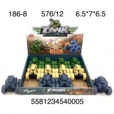 186-8 Танк перевертыш 12 шт в блоке,48 ,блока  в кор.