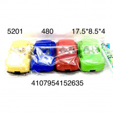 5201 Машинки 4 шт. в пакете, 480 шт. в кор.