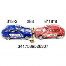 318-2 Машина Полиция в пакете, 288 шт. в кор.